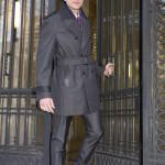 trench coat gris tailleur paris