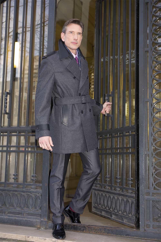 H6N – Trench coat grande mesure