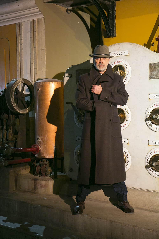 plus près de trouver le travail marque populaire H26N - Manteau russe sur mesure - Magasin de costume homme ...