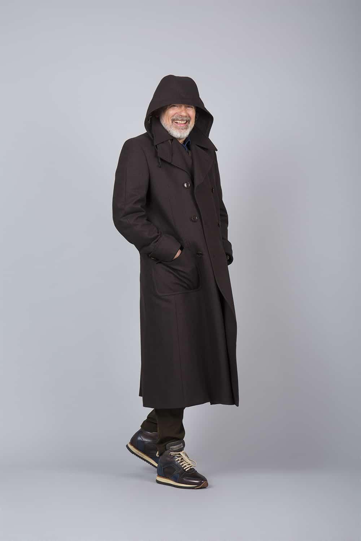 manteau russe long capuche