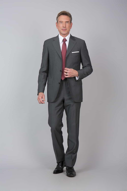 Ensemble costume pose gris tailleur