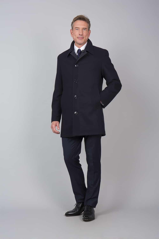 trench coat noir reversible tailleur