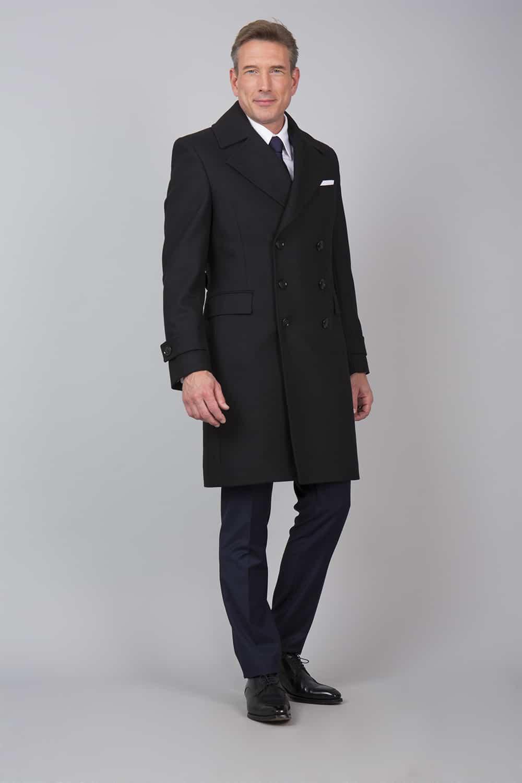 manteau italien laine tailleur
