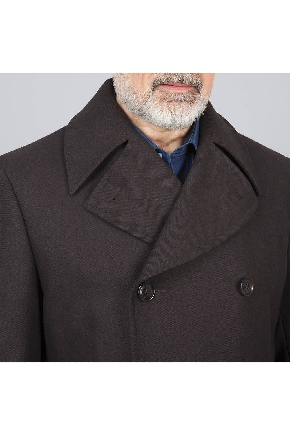 col manteau russe long