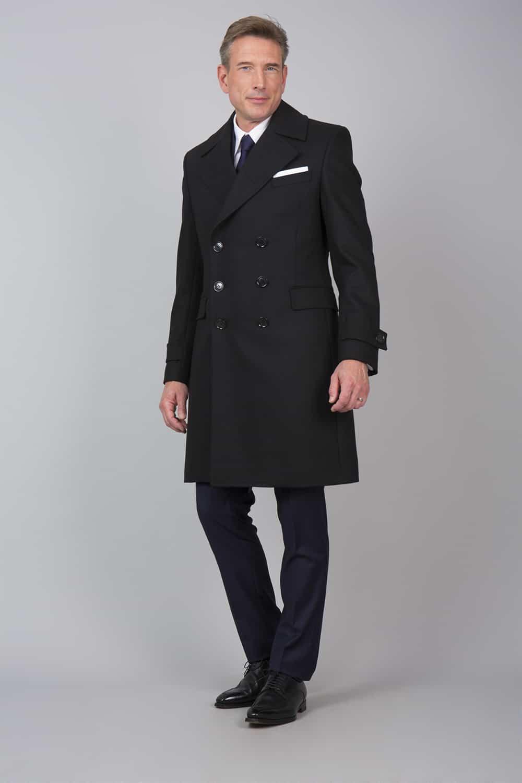 manteau sur mesure italien
