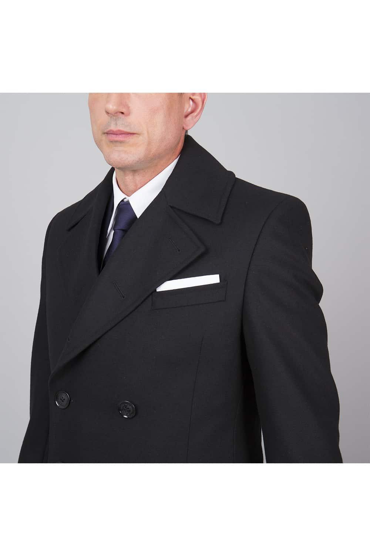 manteau italien poche poitrine
