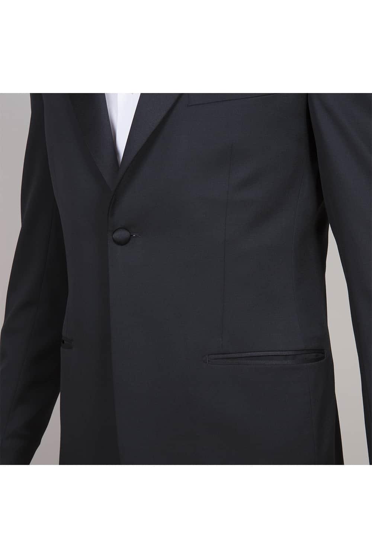 cérémonie smoking noir classique tailleur paris bouton veste