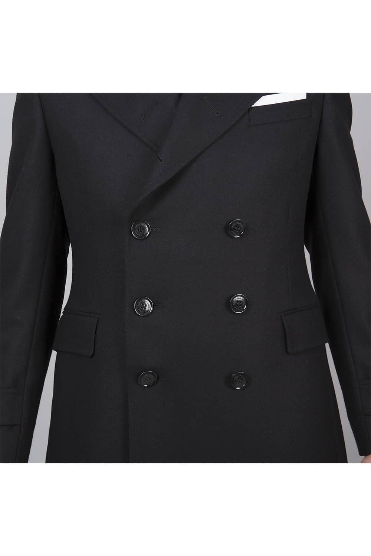 manteau sur mesure 6 boutons