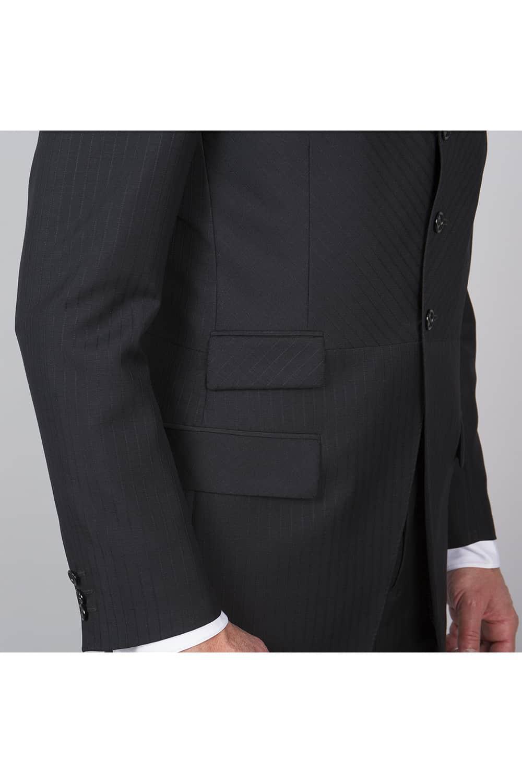 cérémonie redingote decoupe noir sur mesure redingote poches