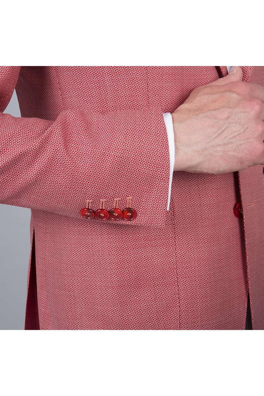 bouton manche veste sur mesure