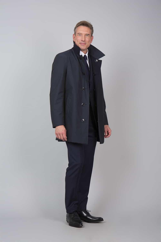coté trench coat noir