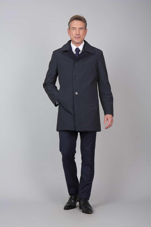 trench coat noir tailleur