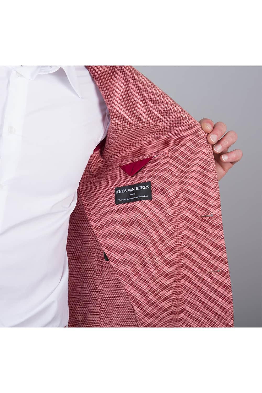 doublure rangement veste sur mesure