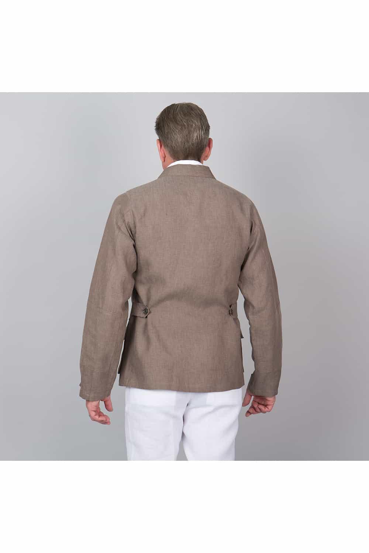 derrière veste non doublé