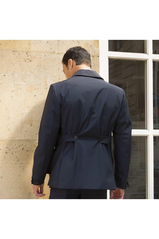sur veste doublure poches