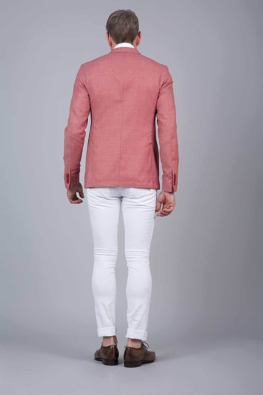 dos non doublé veste sur mesure tailleur