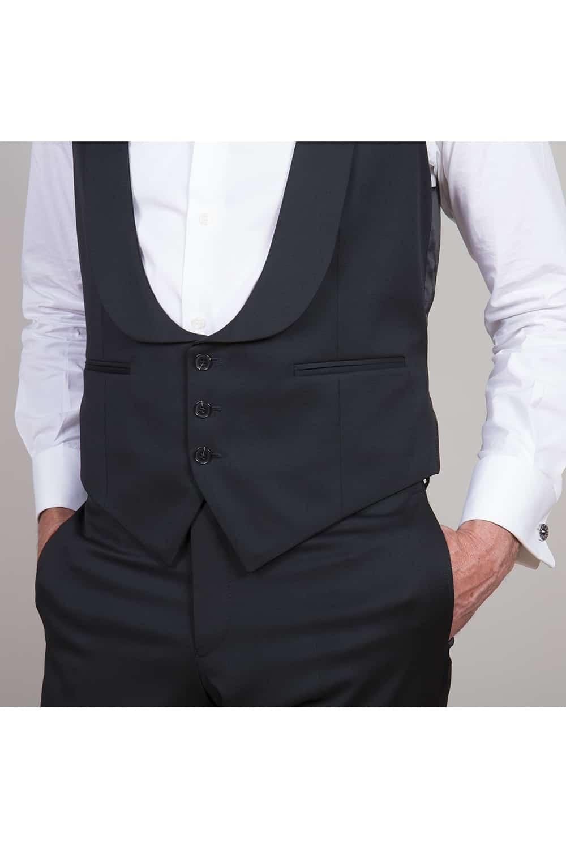 cérémonie smoking noir classique tailleur paris zoom poche