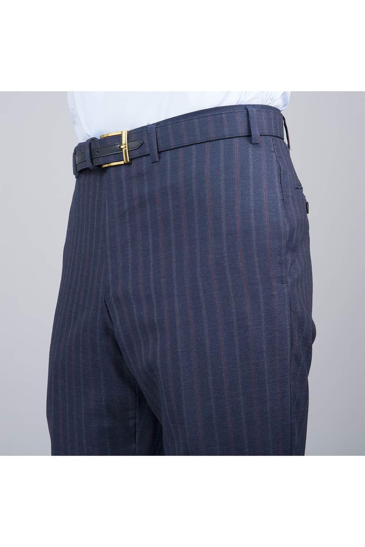 side pantalon costume bleu 3p