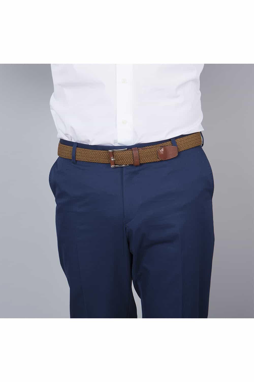 pantalon chino veste bleu