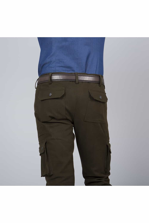 derriere pantalon chino et stretch