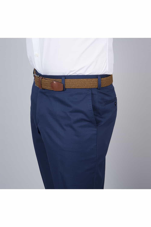 coté pantalon veste bleu