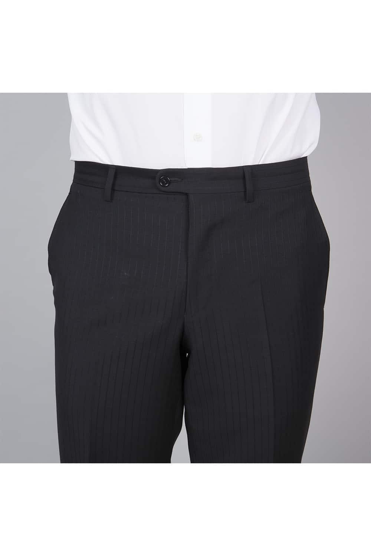 cérémonie redingote decoupe noir sur mesure pantalon face