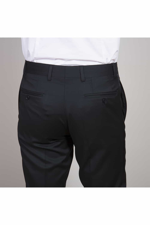cérémonie smoking noir classique tailleur paris pantalon arrière