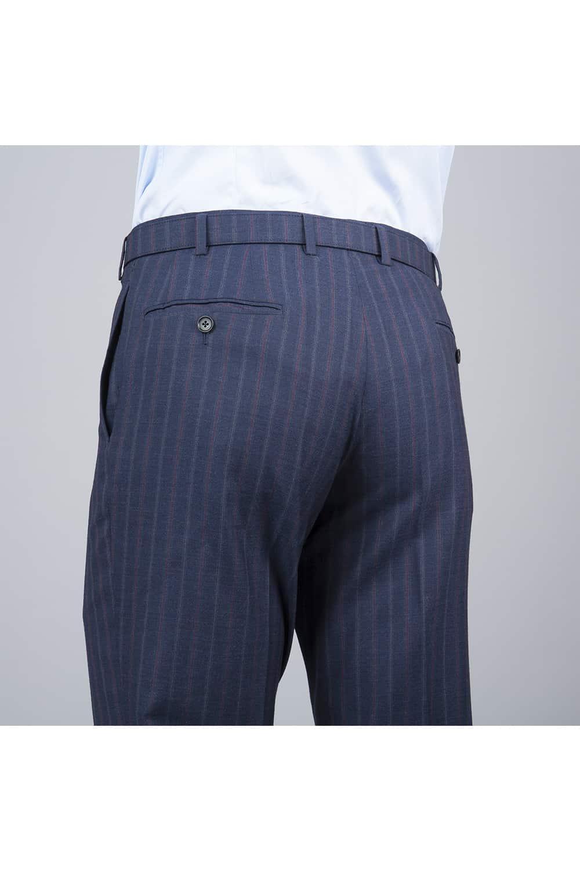 pantalon costume bleu tailleur paris