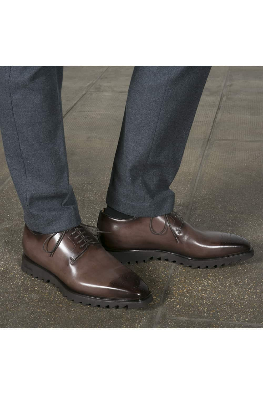 chaussures derby cuir