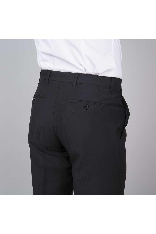 cérémonie redingote decoupe noir sur mesure pantalon dos