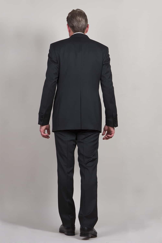 cérémonie smoking noir classique tailleur paris veste arrière