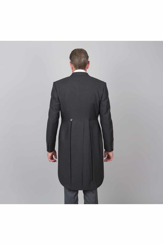 cérémonie jaquette classique grande mesure veste dos proche