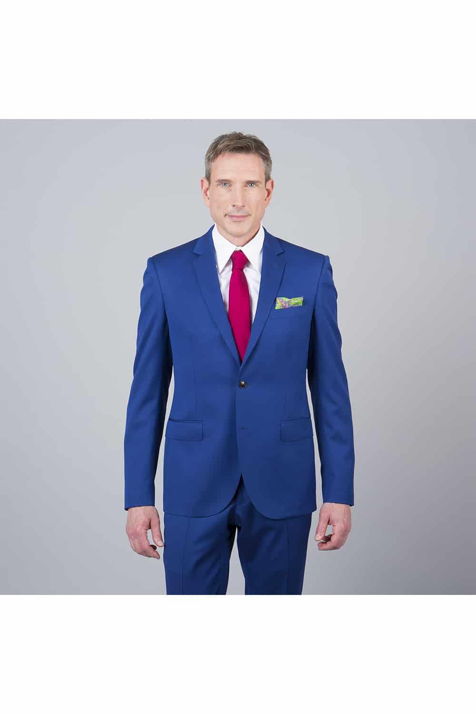 costume bleu roi 2p paris