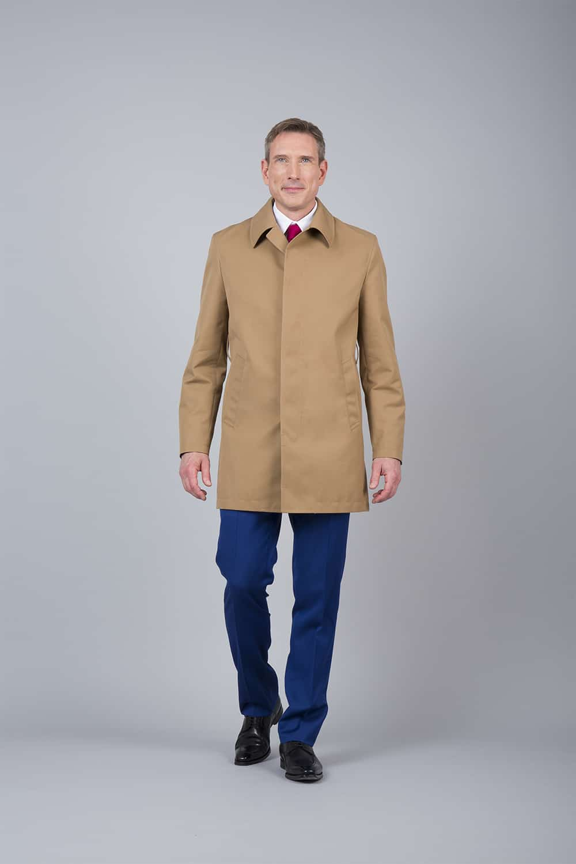 trench coat beige fermé