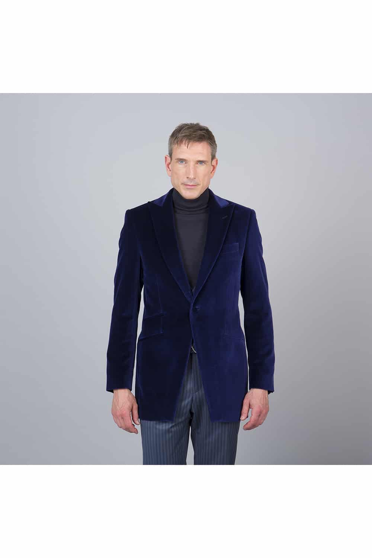 Veste velours cérémonie tailleur paris