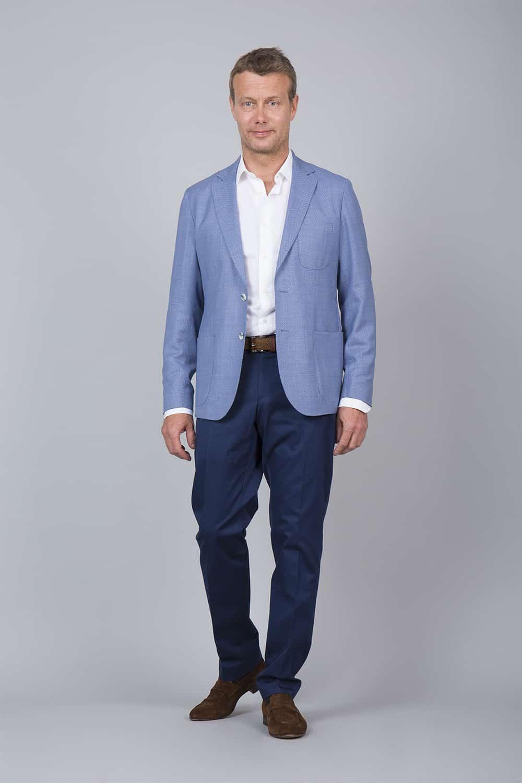Veste bleu tailleur