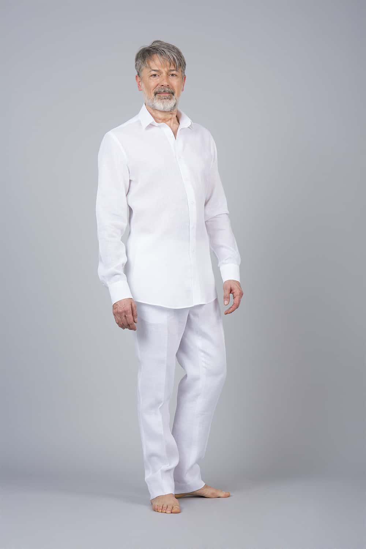 chemise pantlaon lin