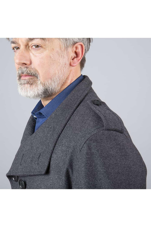 patte épaule manteau