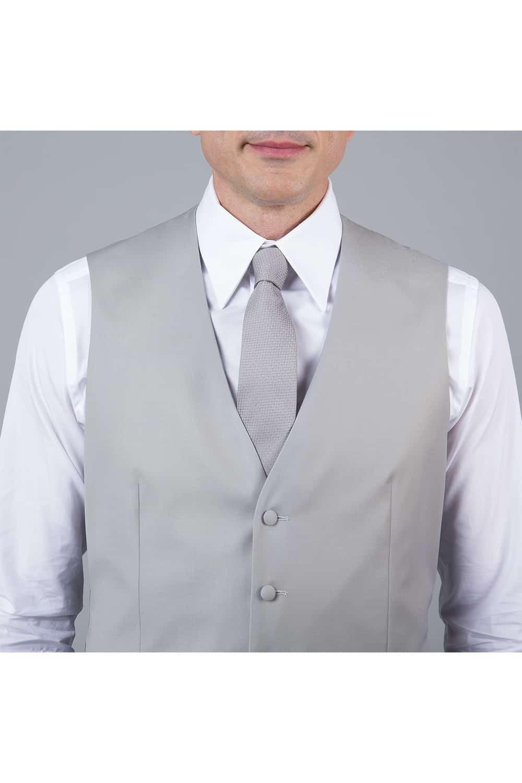 cérémonie jaquette bleue grise tailleur paris gilet gris