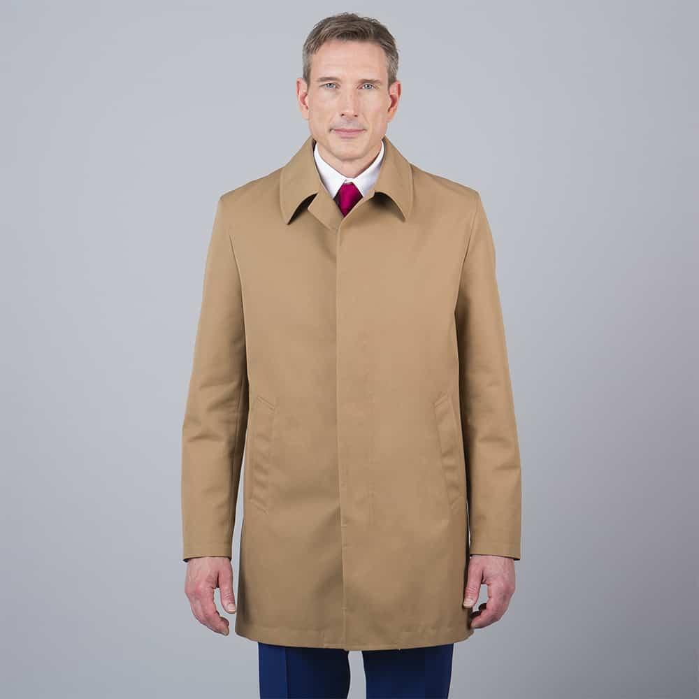trench coat beige tailleur paris