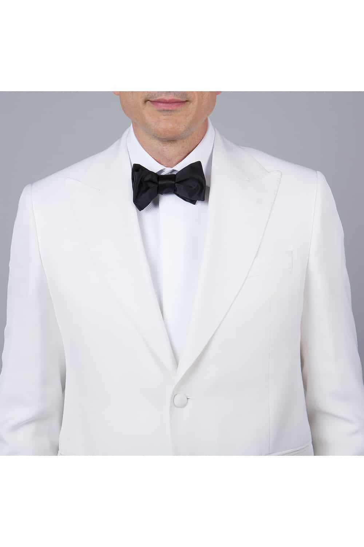 cérémonie smoking blanc tailleur paris col châle