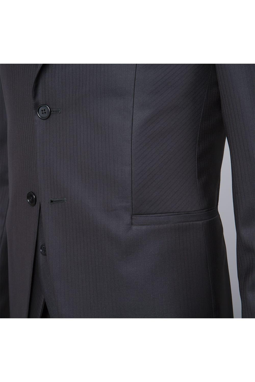 cérémonie jaquette marron tailleur paris boutons poche