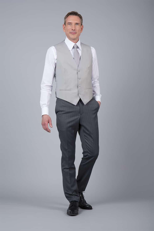 cérémonie jaquette bleue grise tailleur paris gilet pantalon