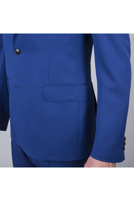 poches costumes bleu roi 2p paris