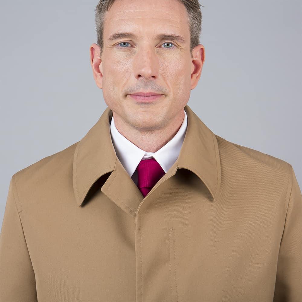 col trench coat tailleur paris