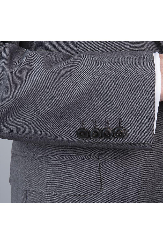 manche costume gris tailleur paris