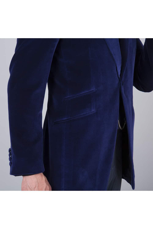 side veste velours