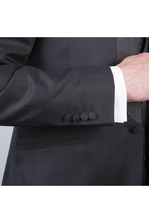 cérémonie tenue grise tailleur manches