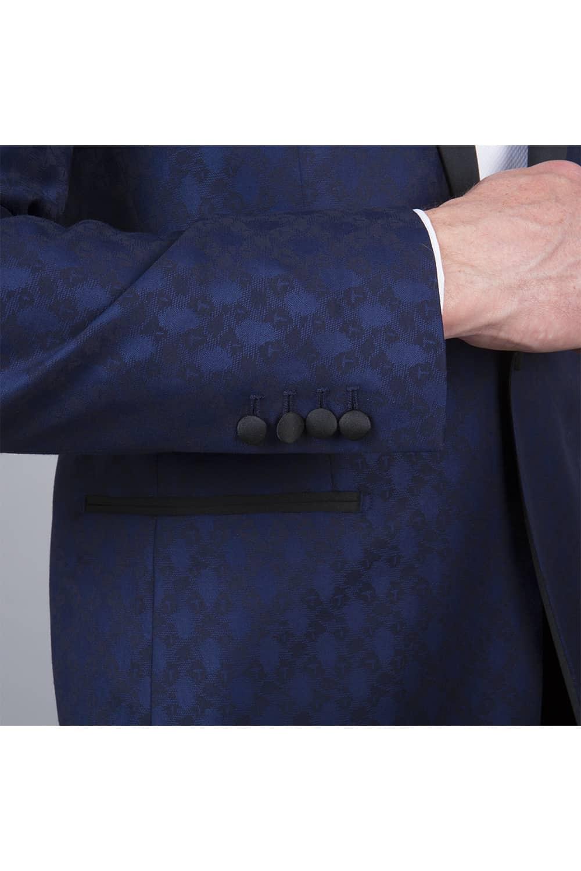 cérémonie smoking bleue tailleur paris veste manche