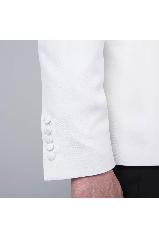 cérémonie smoking blanc tailleur paris manche